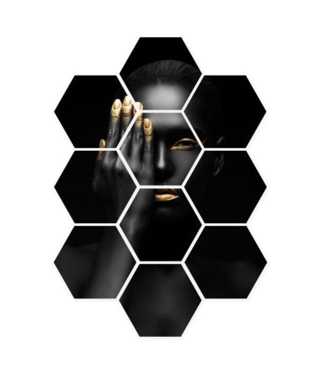 Sweet Living Hexagon Closed Eye - 58xH79 cm