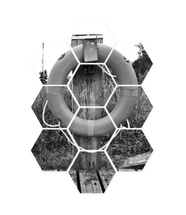 Sweet Living Hexagon Reddingsboei - 58xH79 cm
