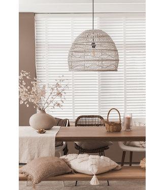 Sweet Living Witte Hanglamp Liv - Ø59xH48 cm