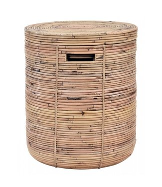 Sweet Living Bamboe Wasmand Taco - Ø35xH44 cm