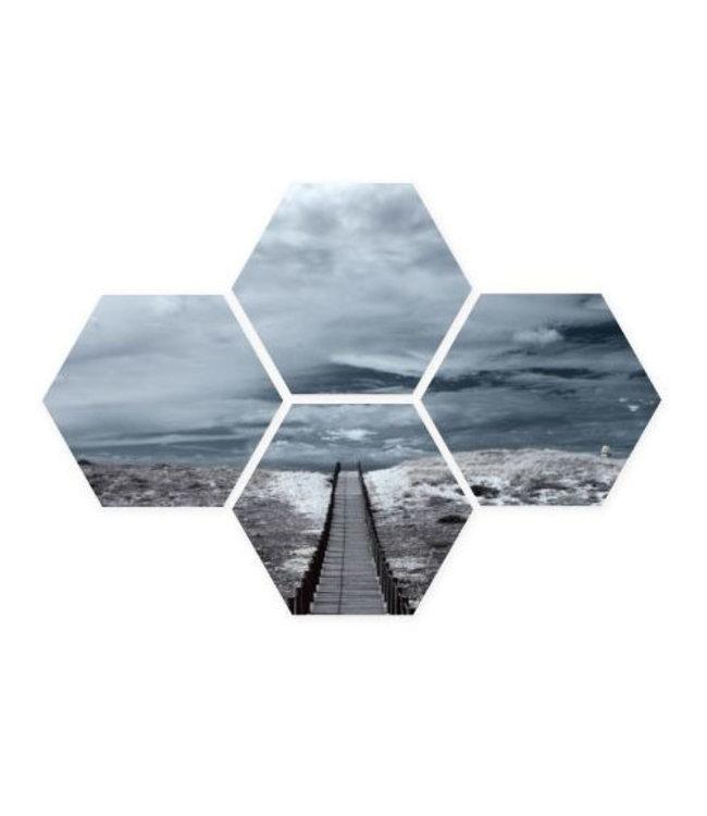 Sweet Living Hexagon Strandpad - 40xH50 cm