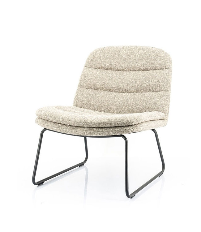 By-Boo Beige Fauteuil Bermo - 66x74xH78 cm