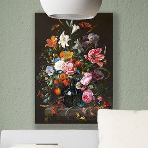 Vaas met bloemen schilderij