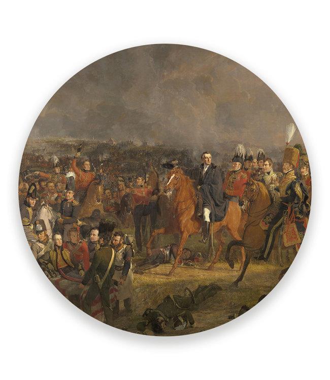 Sweet Living Wandcirkel Slag bij Waterloo
