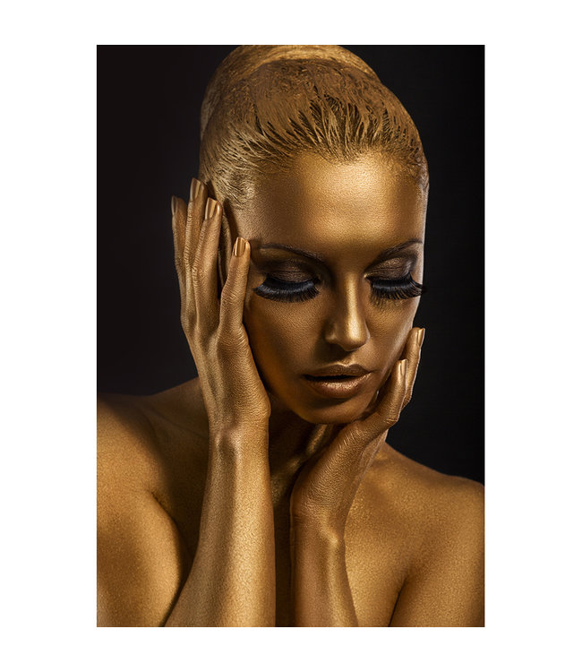 Sweet Living Schilderij Golden Lady