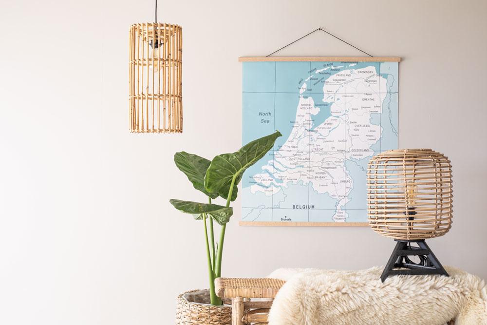 Haal de natuur in huis met bamboe lampen