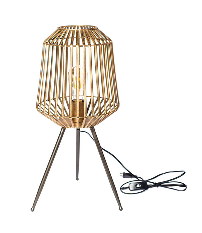 Sweet Living Tafellamp Laila - Ø25xH56 cm