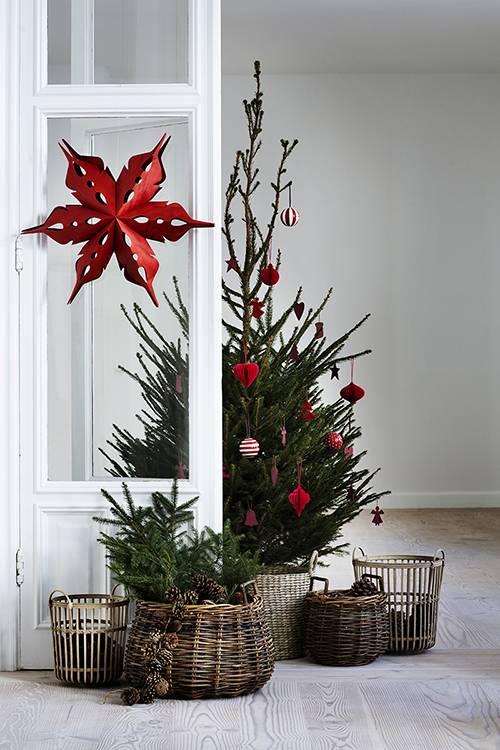 Kerst: Scandinavisch rood
