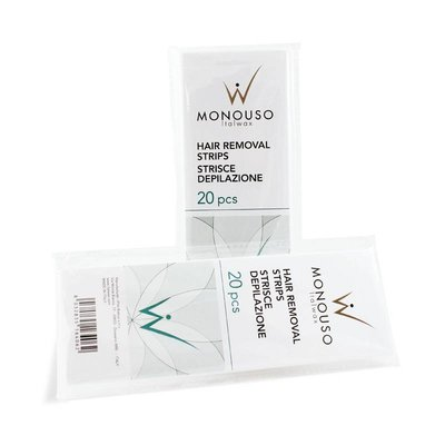 ItalWax Wax strips 7 x 20 cm pack of 100 pieces