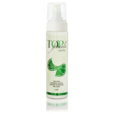 "ItalWax Pre wax Foaming Lotion ""Lime"""