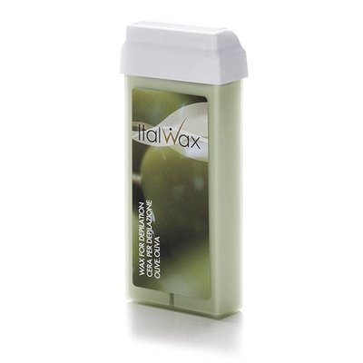 ItalWax Wax cartridge Olive 100 ml (TiO2)