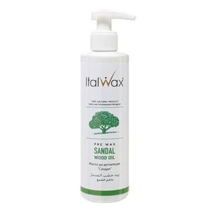 ItalWax Huile Avant épilation Sandal Wood 250ml