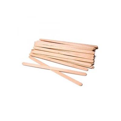 ItalWax Spatules de cire en bois extra-étroites (100 pièces)