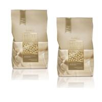 ItalWax Lot avantageux cire film Chocolat blanc 2 kg