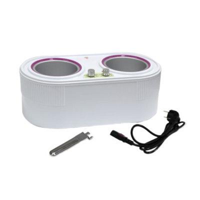 ItalWax Wax heater Double 800ml + 400ml