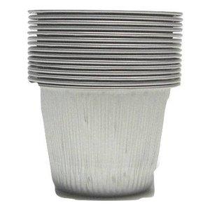 Aluminium potjes Harsverwarmer 10 stuks | 100ml