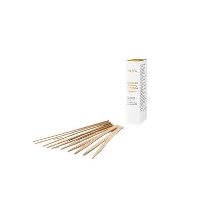 """Italwax Solo Glowax wooden waxing spatulas """"eyebrows"""", 50 pcs"""