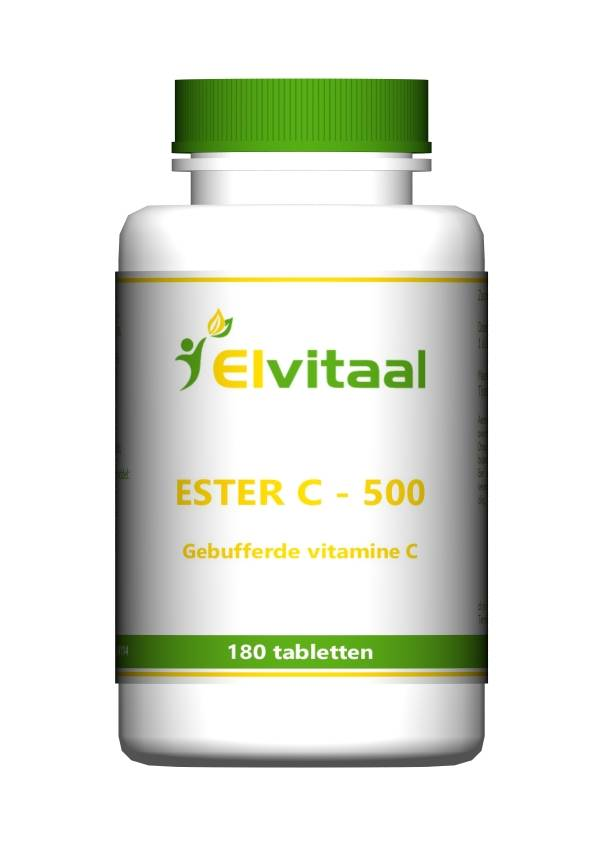 Elvitaal Ester C 500 180 tabletten