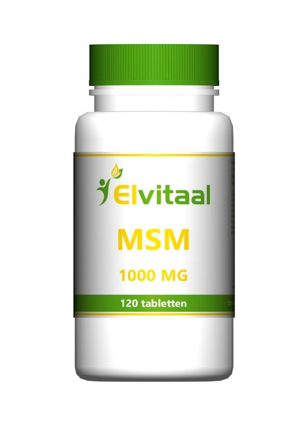 Elvitaal MSM 1000 mg organisch zwavel 120 tabletten