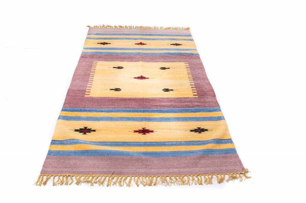 Indiaas kelim tapijt groot 2