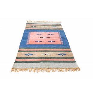 Indiaas kelim tapijt  groot 5