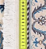 Perzisch Naïn tapijt met zijde