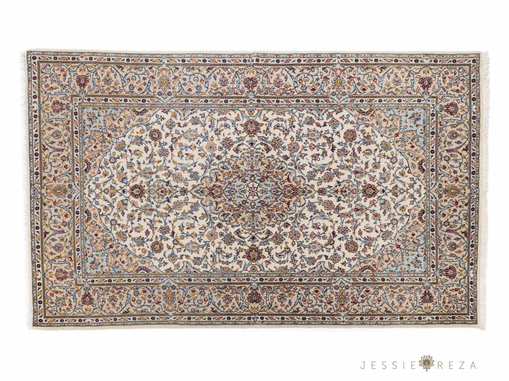 Fijn Kashan Shasar tapijt