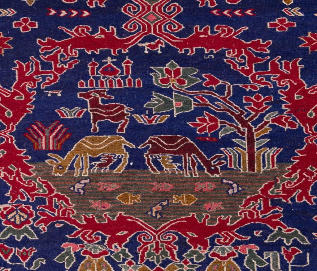 Fijn Kelim Warni tapijt