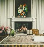 Perzisch Tabriz tapijt met zijde