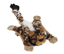 Ebi Flatty unstuffed squeaker & crackle