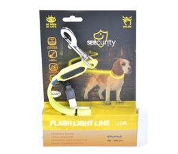 Jogging lijn led licht usb Neon geel
