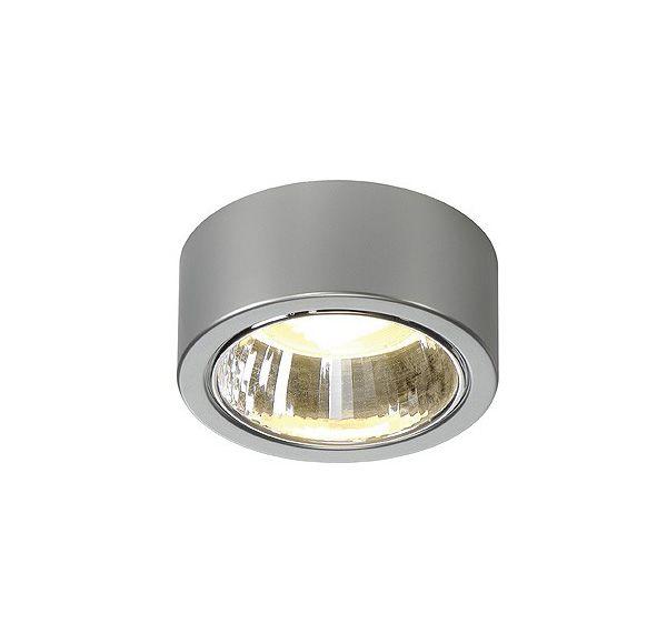 CL 101 GX53, plafond armatuur, rond, zilvergrijs, max. 11W