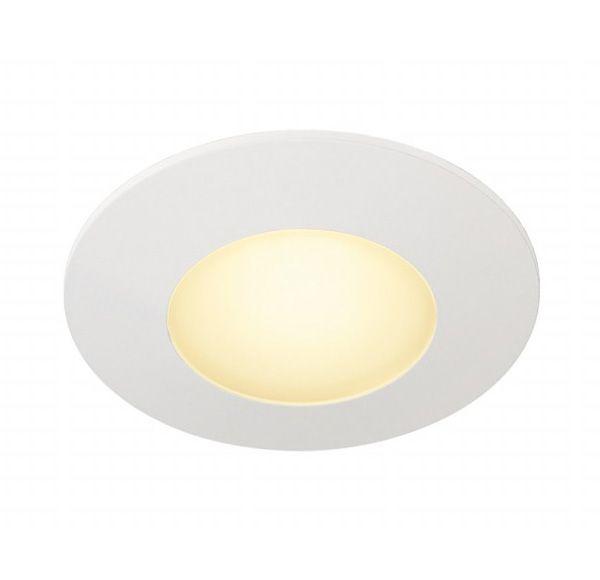 AITES LED ROND, voor inbouwdozen, wit, 3000K