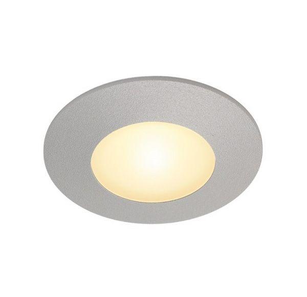 AITES LED ROND, voor inbouwdozen, zilvergrijs, 3000K