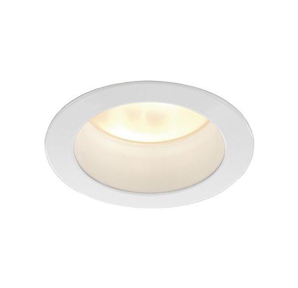 LED HORN inbouwspot, rond, wit, 3x3W, warmwit LED warmwit