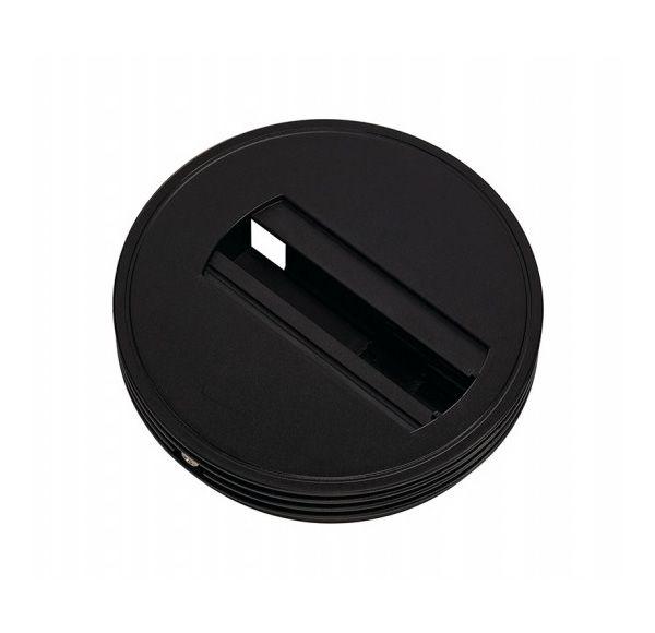 Baldakijn voor 1-fase adapter, zwart