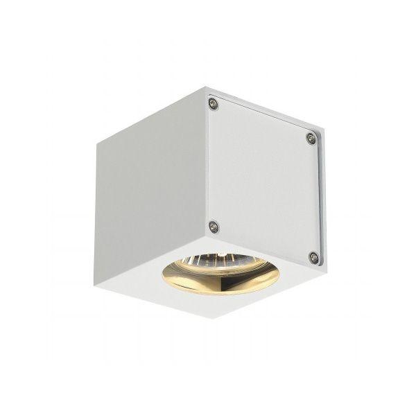 ALTRA DICE WL-1, wand armatuur, vierkant, wit, GU10, max. 35W