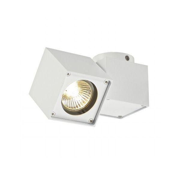 ALTRA DICE SPOT 1, plafond armatuur, vierkant, wit, GU10, max. 50W