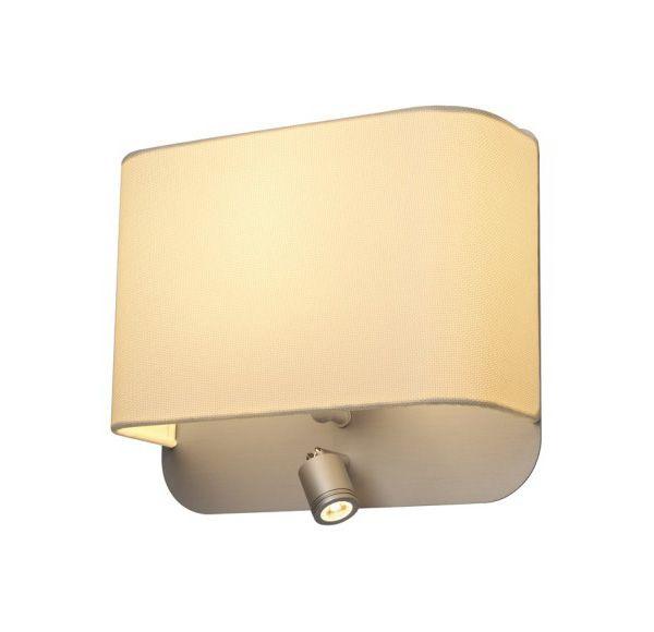 ACCANTO LEDSPOT ROND, E27, max.24W, LED 3000K, witte kap