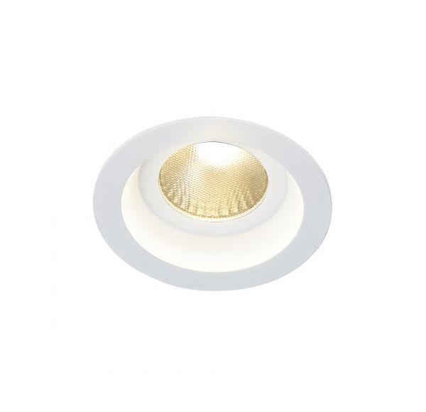 BOOST IP44 9W, inbouwspot, rond, wit, 9W LED, warmwit