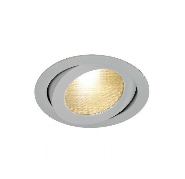 BOOST B TURNO, inbouwspot, richtbaar, rond, zilvergrijs, 13W LED, warmwit