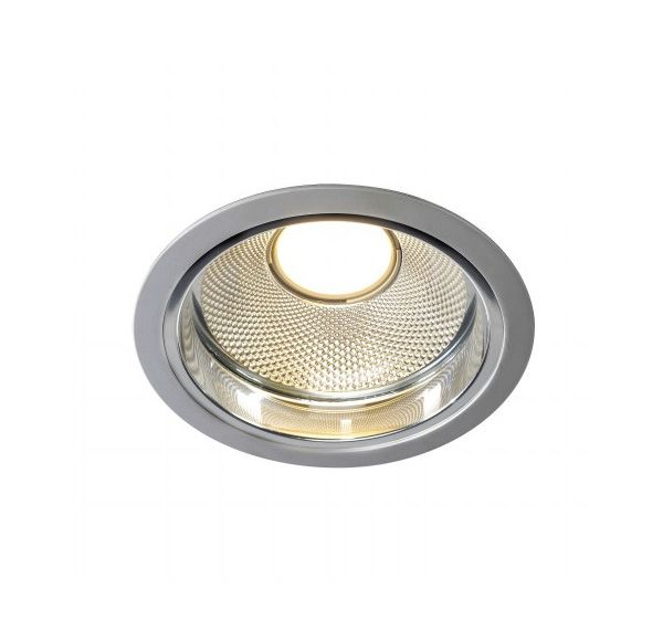 LED DOWNLIGHT PRO RT, rond, zilvergrijs, voor Fortimo LED Twistable module, max. 20W