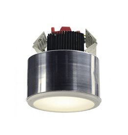 LED DOWNLIGHT PRO R Frameless, rond, wit, 12W, incl. LED Disk module 800lm, 2700K
