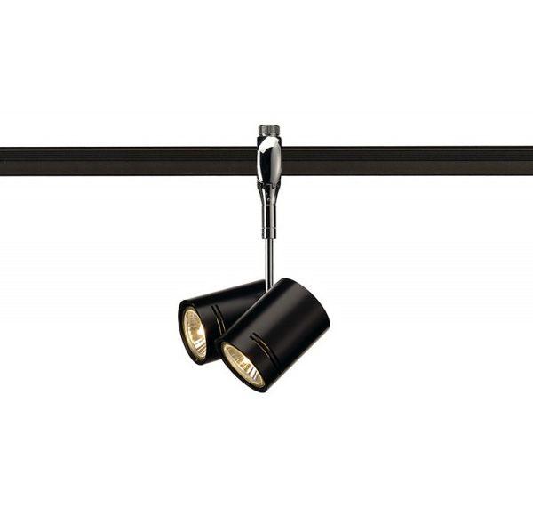 BIMA 2 lampekop voor EASYTEC II, chroom, 2xGU10, max. 2x50W