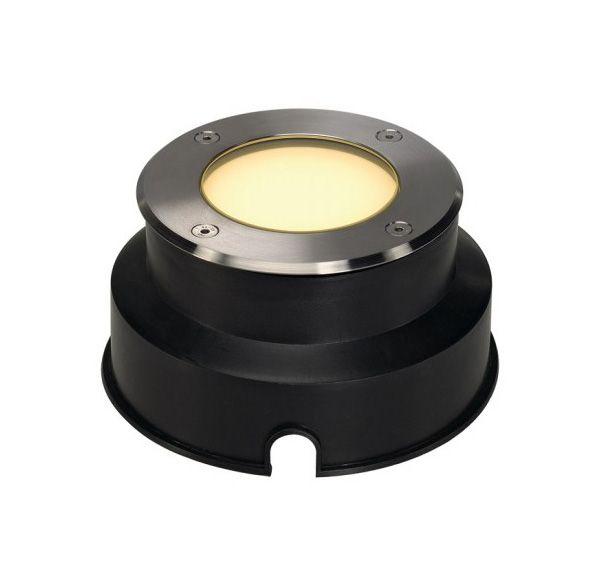 DASAR 115 LED, inbouw grondspot, inox 316, 6W, warmwit, IP67