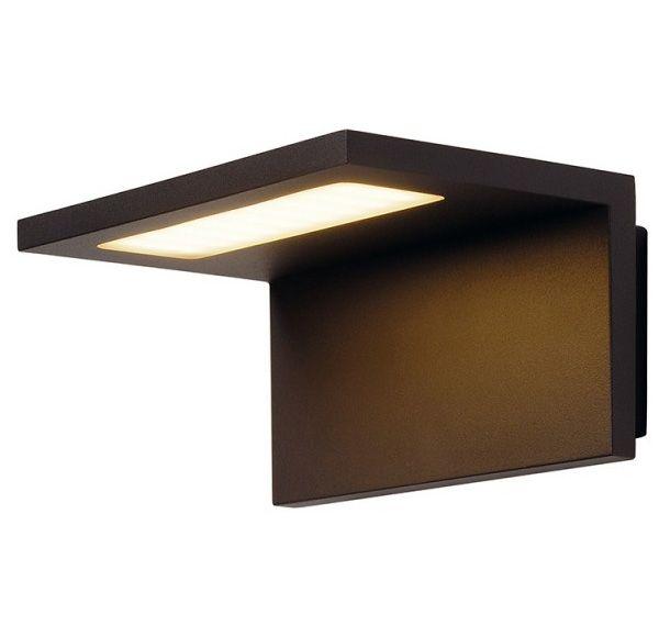 ANGOLUX WALL wandlamp, antraciet, 36 SMD LED, 3000K