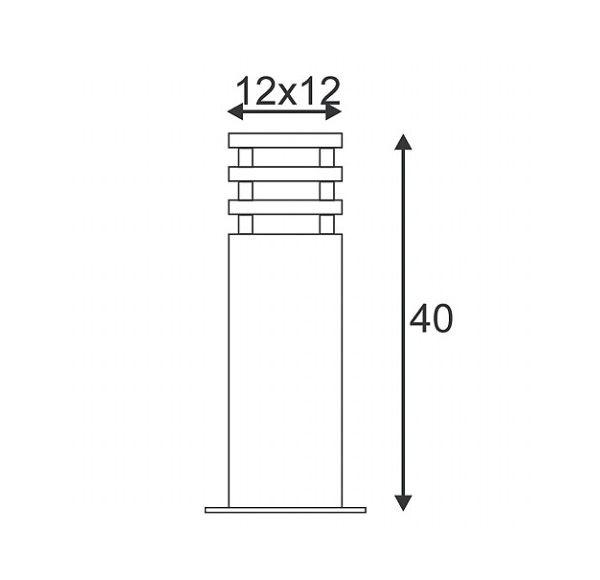 ARROCK SAND 40, zandsteen, E27, max. 15W