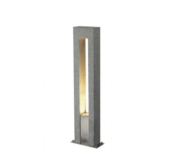 ARROCK ARC GU10, graniet, zout & peper, GU10, max. 35W