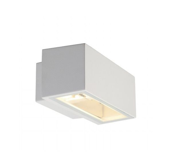 BOX R7s, wand armatuur, vierkant, wit, R7s, max. 80W, up-down
