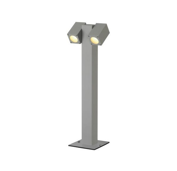 CUBIC PATH LIGHT T-TYPE, zilvergrijs, GU10, max. 2x35W